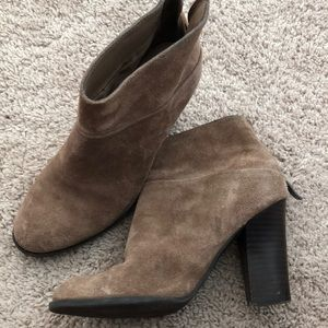 Leather BCBGeneration booties